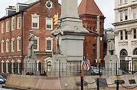 Lancaster City visitors center and war memorial, Lancaster, Pennsylvania, USA
