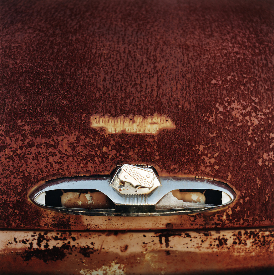 Rusted Car Trunk