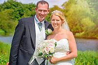 Summer wedding at Hexton Manor