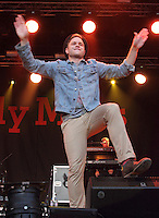 Luton - Olly Murs performs at Love Luton Festival Day Two at Popes Meadow, Luton, Bedfordshire - July 7th 2012..Photo by Keith Mayhew.