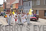 POCESSION : The Annaul pocession which took place from St Mary's Church Listowel to the Local Community Centre on Sunday..