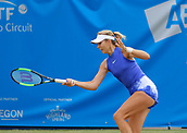 June 14th 2017, The Northern Lawn tennis Club, Manchester, England; ITF Womens tennis tournament; Katie Boulter (GBR) in action during her first round singles match against Samantha Murray (GBR)