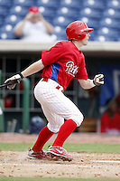 July 10, 2009:  Third Baseman Matthew McConnell (51) of the GCL Phillies during a game at Bright House Networks Field in Clearwater, FL.  The GCL Phillies are the Gulf Coast Rookie League affiliate of the Philadelphia Phillies.  Photo By Mike Janes/Four Seam Images