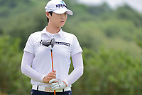 Sung Hyun Park (KOR) watches her tee shot on 9 during round 2 of  the Volunteers of America Texas Shootout Presented by JTBC, at the Las Colinas Country Club in Irving, Texas, USA. 4/28/2017.<br /> Picture: Golffile   Ken Murray<br /> <br /> <br /> All photo usage must carry mandatory copyright credit (&copy; Golffile   Ken Murray)