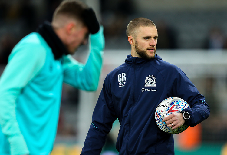 Blackburn Rovers' head of athletic performance Chris Rush<br /> <br /> Photographer Alex Dodd/CameraSport<br /> <br /> Emirates FA Cup Third Round - Newcastle United v Blackburn Rovers - Saturday 5th January 2019 - St James' Park - Newcastle<br />  <br /> World Copyright © 2019 CameraSport. All rights reserved. 43 Linden Ave. Countesthorpe. Leicester. England. LE8 5PG - Tel: +44 (0) 116 277 4147 - admin@camerasport.com - www.camerasport.com