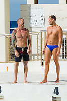 My Kitchen Rules Bondi Boys Swimming at Bondi Icebergs