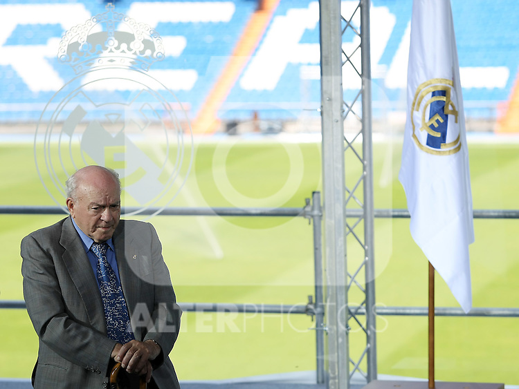 Real Madrid's Honor President Alfredo  Di Stefano  .June 1 2009. (ALTERPHOTOS/Acero).