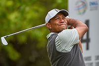 Tiger Woods (USA) watches his tee shot on 4 during day 4 of the WGC Dell Match Play, at the Austin Country Club, Austin, Texas, USA. 3/30/2019.<br /> Picture: Golffile | Ken Murray<br /> <br /> <br /> All photo usage must carry mandatory copyright credit (© Golffile | Ken Murray)