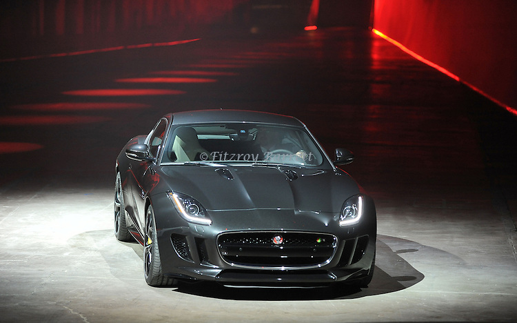 Jaguar F-TYPE Debut held at Raleigh Studios Playa Vista Los Angeles, Ca. November 19, 2013