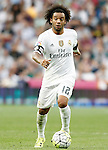 Real Madrid's Marcelo Vieira during La Liga match. September 26,2015. (ALTERPHOTOS/Acero)