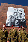 Israel, Jerusalem, Holocaust Memorial Day at Yad Vashem, 2005<br />