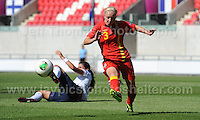 Action during the UEFA Womens U19 Championships at Parc y Scarlets, Monday 19th August 2013. All images are the copyright of Jeff Thomas Photography-www.jaypics.photoshelter.com-07837 386244-Any use of images must be authorised by the copyright owner.