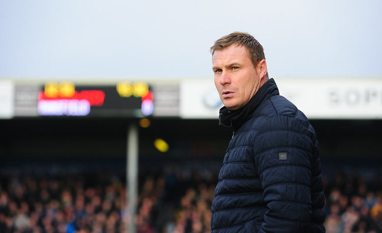 Mansfield Town manager David Flitcroft<br /> <br /> Photographer Chris Vaughan/CameraSport<br /> <br /> The EFL Sky Bet League Two - Lincoln City v Mansfield Town - Saturday 24th November 2018 - Sincil Bank - Lincoln<br /> <br /> World Copyright © 2018 CameraSport. All rights reserved. 43 Linden Ave. Countesthorpe. Leicester. England. LE8 5PG - Tel: +44 (0) 116 277 4147 - admin@camerasport.com - www.camerasport.com