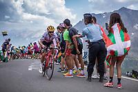Richie Porte (AUS/Trek Segafredo) up the Col du Galibier (HC/2622m/23km@5.1%)<br /> <br /> Stage 18: Embrun to Valloire (208km)<br /> 106th Tour de France 2019 (2.UWT)<br /> <br /> ©kramon