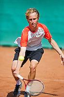 August 12, 2014, Netherlands, Raalte, TV Ramele, Tennis, National Championships, NRTK,  Stefan de Jong (NED)<br /> Photo: Tennisimages/Henk Koster