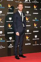 Pablo Rivero attends the Feroz Cinema Awards 2015 at Las Ventas, Madrid,  Spain. January 25, 2015.(ALTERPHOTOS/)Carlos Dafonte) /NortePhoto<br /> <br /> nortePhoto.com