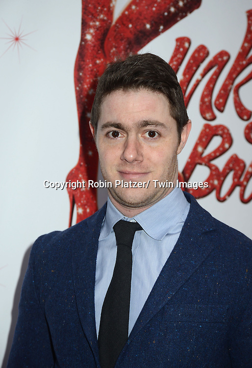 "Jacob  Bernstein arrives at the ""Kinky Boots"" Broadway Opening on April 4, 2013 at The Al Hirschfeld Theatre in New York City. Harvey Fierstein wrote is the Book Writer and Cnydi Lauper is the Composer."