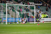 Ryan Edwards of Plymouth Argyle clears off the line during the Sky Bet League 1 match between Plymouth Argyle and Fleetwood Town at Home Park, Plymouth, England on 7 October 2017. Photo by Mark  Hawkins / PRiME Media Images.