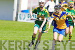 Kerry's Claire Murphy in action in the All Ireland U16' s camogie championship at Kilmoyley on Sunday.