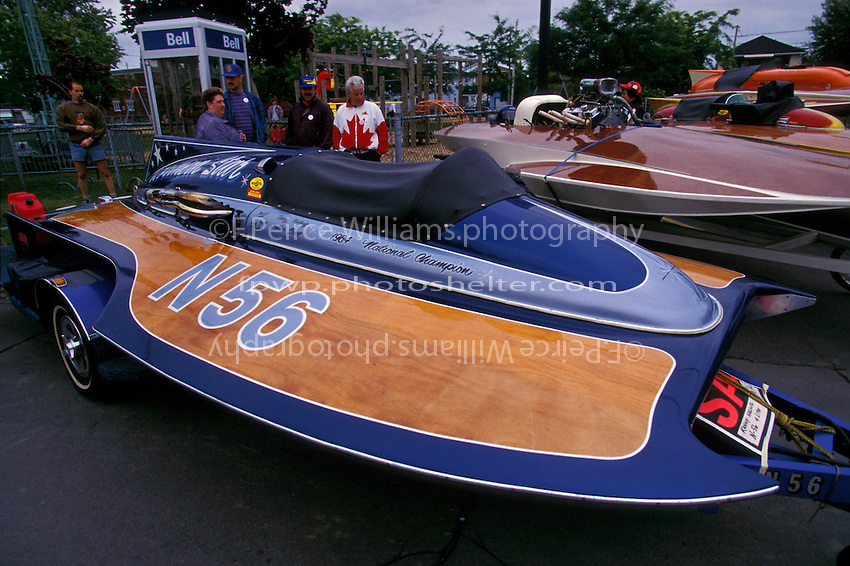 "N-56 ""Shooting Star"" (225 class hydroplane) Valleyfield, QE Canada 1997"