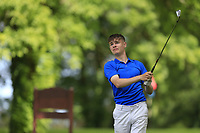 Ryan McNelis (Fintona) during the final round of the Connacht Boys Amateur Championship, Oughterard Golf Club, Oughterard, Co. Galway, Ireland. 05/07/2019<br /> Picture: Golffile | Fran Caffrey<br /> <br /> <br /> All photo usage must carry mandatory copyright credit (© Golffile | Fran Caffrey)