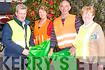 Residents in Beaufort have come together to ensure that the area is clean and tidy by launching  a litter campaign to ensure that the village and its routes are free of litter. .L-R Spokesperson Padruig O'Sullivan, Theresa Ferris, John and Mary Anne O'Sullivan