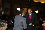 January 11, 2012 - Brooklyn, New York, USA: Two years after Haiti earthquake, government officials, clergy, and area artists participate in 2nd Annual Interfaith Memorial Service for Haiti, Wednesday night at Brooklyn Borough Hall.