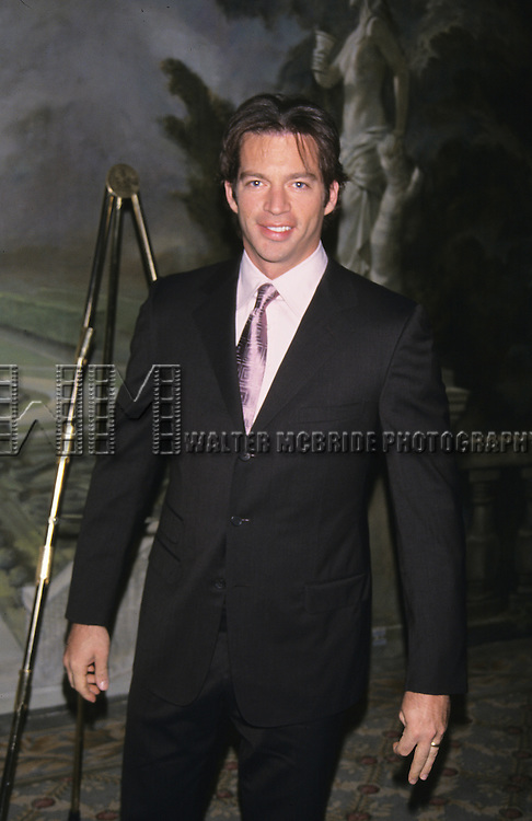 Harry Connick Jr. pictured at the American Theatre Wing Gala annual lunch at Pierre Hotel in New York City on April 16, 2001.