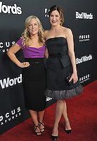 Rachael Harris (left) &amp; Kathryn Hahn at the Los Angeles premiere of their movie &quot;Bad Words&quot; at the Cinerama Dome, Hollywood.<br /> March 5, 2014  Los Angeles, CA<br /> Picture: Paul Smith / Featureflash