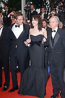 """Robert Pattinson and Juliette Binoche attending the """"Cosmopolis"""" Premiere during the 65th annual International Cannes Film Festival in Cannes, France, 25.05.2012...Credit: Timm/face to face /MediaPunch Inc. ***FOR USA ONLY***"""