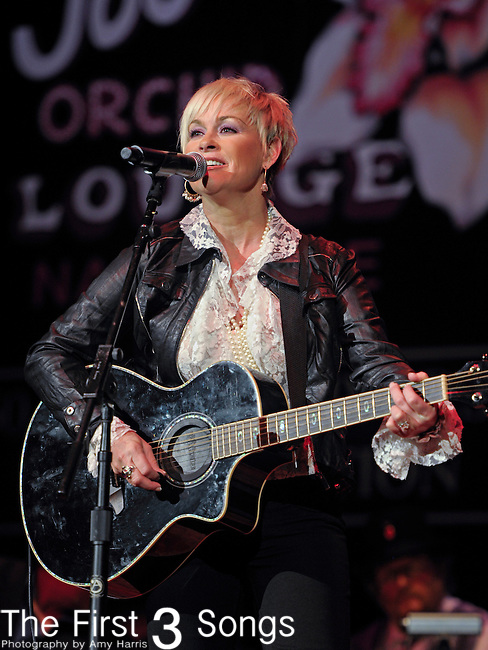 LORRIE MORGAN performs at the Ryman Auditorium for Tootsie's Orchid Lounge 50th Anniversary Celebration in Nashville, Tennessee on November 8, 2010.