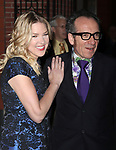 Diana Krall & Elvis Costello arriving the Broadway Opening Night Performance of ALL ABOUT ME at the Henry Miller Theatre, New York City.<br />