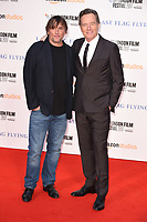 director, Richard Linklater and Bryan Cranston<br /> arriving for the London Film Festival 2017 screening of &quot;Last Flag Flying&quot; at the Odeon Leicester Square, London<br /> <br /> <br /> &copy;Ash Knotek  D3325  08/10/2017