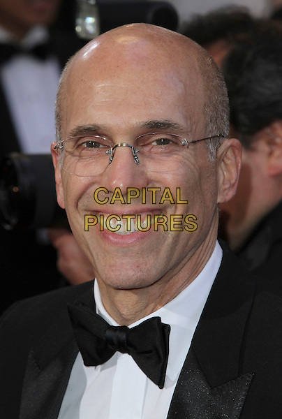 Jeffrey Katzenberg.85th Annual Academy Awards held at the Dolby Theatre at Hollywood & Highland Center, Hollywood, California, USA..February 24th, 2013.oscars headshot portrait white shirt black bow tie tuxedo glasses .CAP/ADM/SLP/COL.©Colin/StarlitePics/AdMedia/Capital Pictures