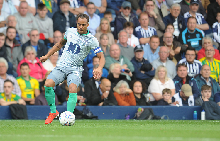 Blackburn Rovers' Elliott Bennett<br /> <br /> Photographer Kevin Barnes/CameraSport<br /> <br /> The EFL Sky Bet Championship - West Bromwich Albion v Blackburn Rovers - Saturday 31st August 2019 - The Hawthorns - West Bromwich<br /> <br /> World Copyright © 2019 CameraSport. All rights reserved. 43 Linden Ave. Countesthorpe. Leicester. England. LE8 5PG - Tel: +44 (0) 116 277 4147 - admin@camerasport.com - www.camerasport.com