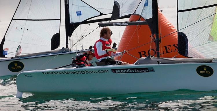 GBR 045, Alexandra Rickham, Niki Birrell, SKUD-18, GBR