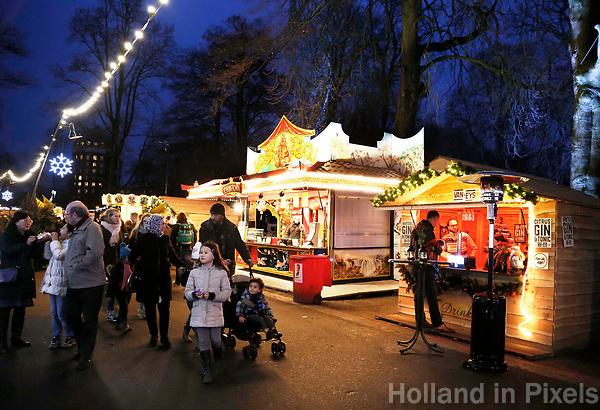Nederland  Breda  2016. Winterland Breda. Kerstmarkt. Foto Berlinda van Dam / Hollandse Hoogte