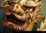 Gilded Dragon Chinatown Yokohama Japan
