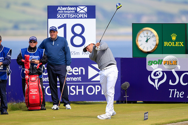 Lucas Bjerregaard (DEN) during round 2 of the Aberdeen Asset Management Scottish Open 2016, Castle Stuart  Golf links, Inverness, Scotland. 08/07/2016.<br /> Picture Fran Caffrey / Golffile.ie<br /> <br /> All photo usage must carry mandatory copyright credit (&copy; Golffile | Fran Caffrey)