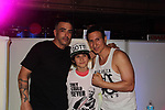 "Patrick Borriello & Nico Bustamante & William DeMeo- Brooklyn, New York celebrates Actor William DeMeo's upcoming role in Gotti film in which he plays Sammy ""The Bull"" Gravano in a block party on May 23, 2018 along with cast.  (Photo by Sue Coflin/Max Photos)"