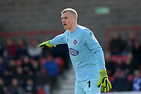 Elliot Justham of Dagenham and Redbridge during Ebbsfleet United vs Dagenham & Redbridge, Vanarama National League Football at The Kuflink Stadium on 13th April 2019