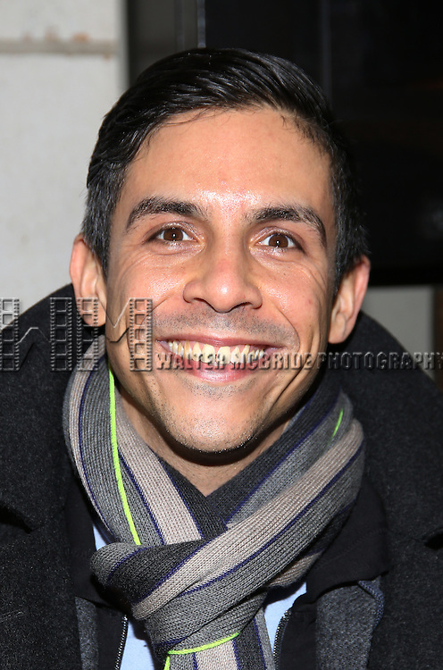 Matthew Lopez attend the Manhattan Theatre Club's Broadway debut of August Wilson's 'Jitney' at the Samuel J. Friedman Theatre on January 19, 2017 in New York City.