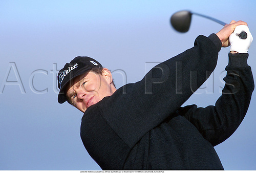 JOAKIM HEAGGMAN (SWE), Alfred Dunhill Cup, St Andrews 971019 Photo:Glyn Kirk/Action Plus...1997.Golf.golfer golfers