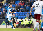 St Johnstone v Rangers&Ouml;21.05.17     SPFL    McDiarmid Park<br /> Liam Craig&iacute;s shot goes over the bar<br /> Picture by Graeme Hart.<br /> Copyright Perthshire Picture Agency<br /> Tel: 01738 623350  Mobile: 07990 594431