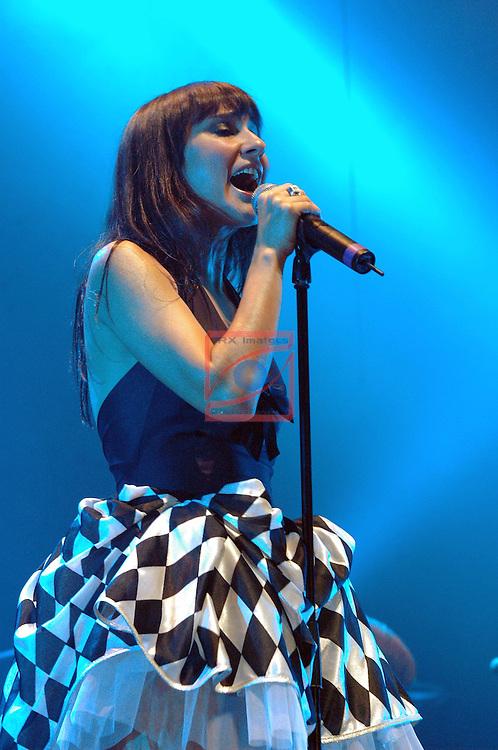 Amaral in concert-Tour 'Pajaros en la cabeza'.