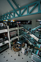 Interior of the Planet Mall, a shopping centre in San Jose, Costa Rica