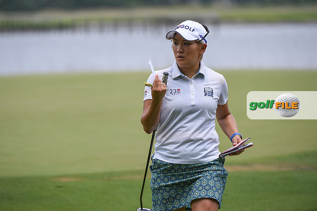 Misuzu Narita (JPN) departs the green on 10 during round 2 of the 2019 US Women's Open, Charleston Country Club, Charleston, South Carolina,  USA. 5/31/2019.<br /> Picture: Golffile | Ken Murray<br /> <br /> All photo usage must carry mandatory copyright credit (© Golffile | Ken Murray)