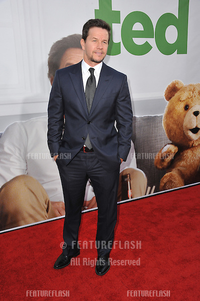 """Mark Wahlberg at the world premiere of his movie """"Ted"""" at Grauman's Chinese Theatre, Hollywood..June 22, 2012  Los Angeles, CA.Picture: Paul Smith / Featureflash"""