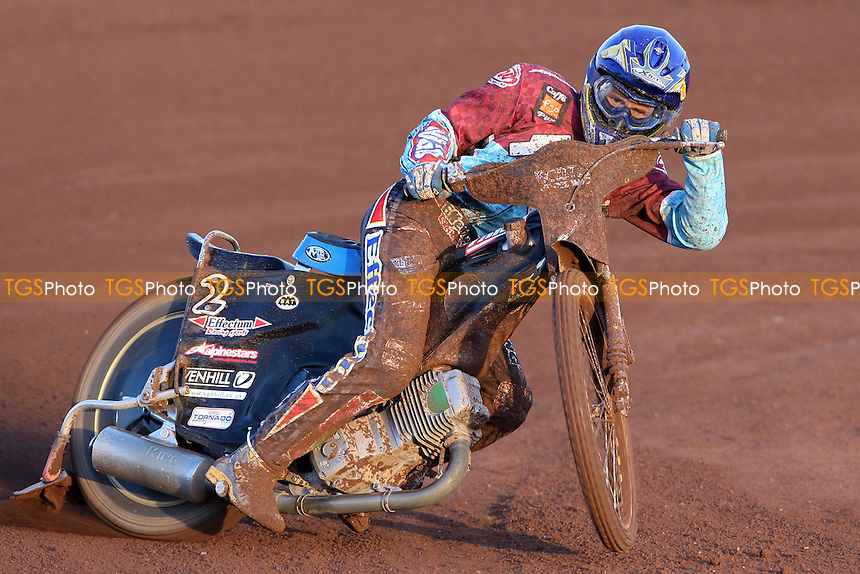 Jonas Davidsson of Lakeside - Lakeside Hammers vs Coventry Bees, Elite League Speedway at the Arena Essex Raceway, Purfleet - 18/05/09 - MANDATORY CREDIT: Rob Newell/TGSPHOTO - Self billing applies where appropriate - 0845 094 6026 - contact@tgsphoto.co.uk - NO UNPAID USE.