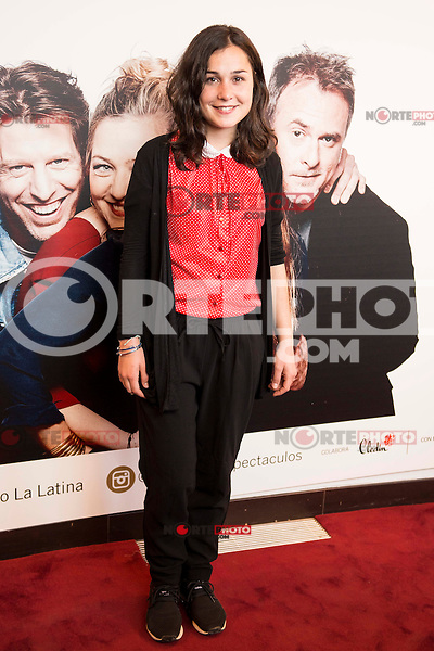 "Nadia de Santiago attends to the premiere of the theater play ""Los Vecinos de Arriba"" of the director Cesc Gayt at Teatro La Latina in Madrid. April 13, 2016. (ALTERPHOTOS/Borja B.Hojas)"